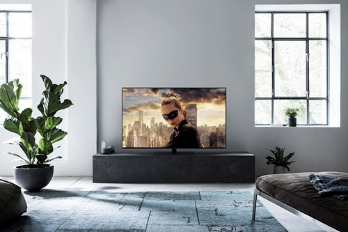 Panasonic OLED TV screen