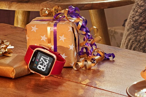 Fitbit Versa Ruby & Rose Gold