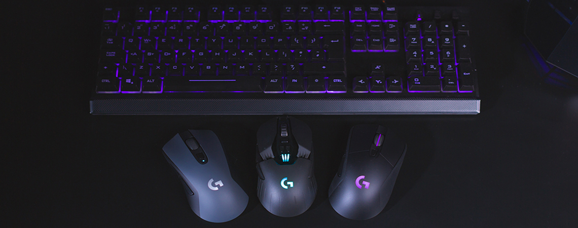 Enjoy pin-point accuracy with these wireless Logitech gaming
