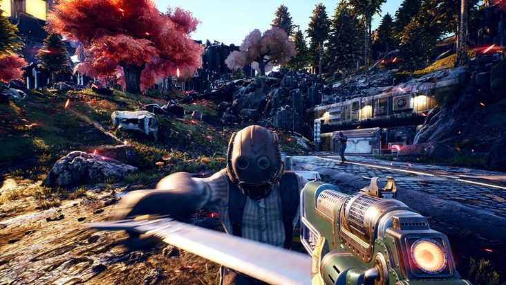the outer worlds game scene