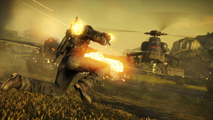 Rico Rodriguez in Just Cause 4