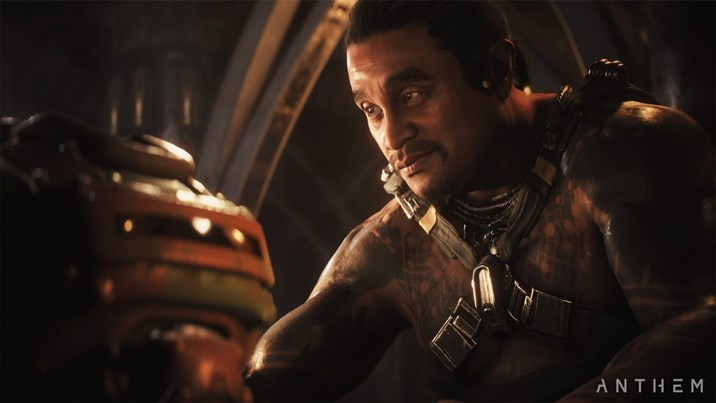 A screenshot from Anthem, set to be released on 22 February 2019
