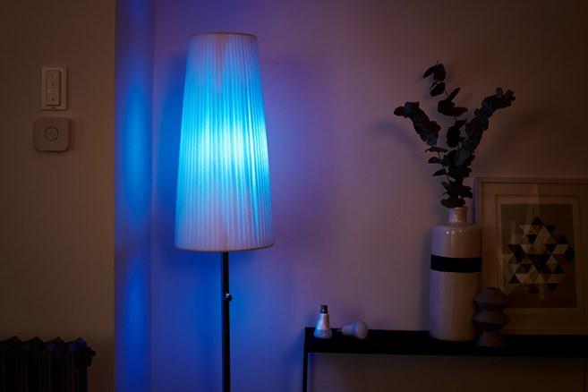 Blue philips hue