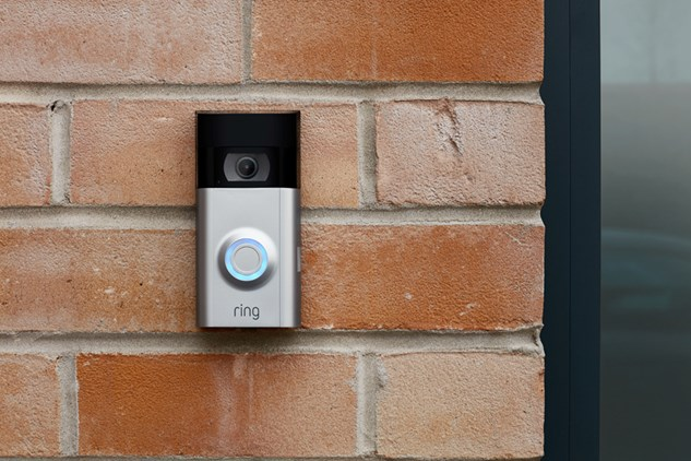 Ring video doorbell with chime