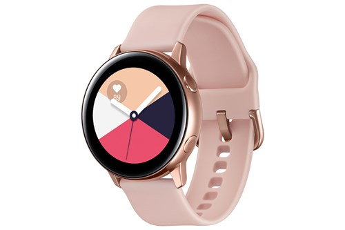 Samsung Galaxy Watch Active in rose gold