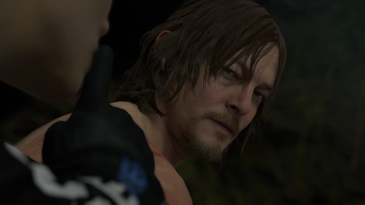 Sam Bridges (Norman Reedus) in Death Stranding