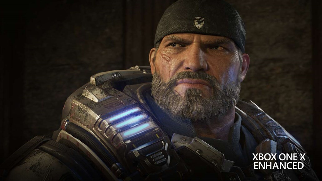 Marcus from Gears of War 4