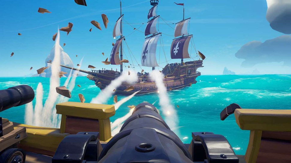 Canon in Sea of Thieves