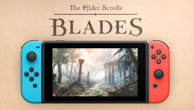 Elder scrolls blades switch