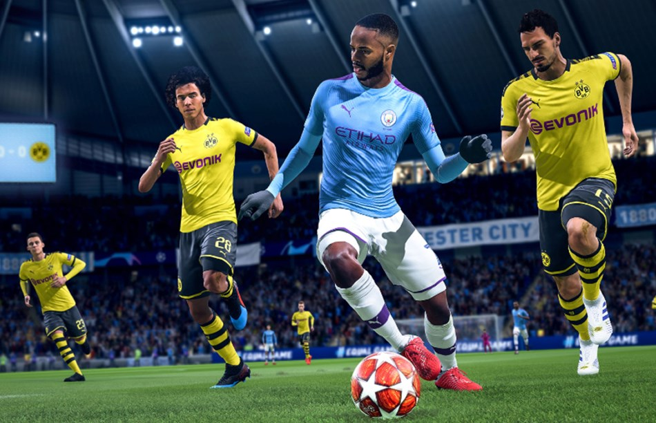 Fifa 20 on Playstation 4 Pro